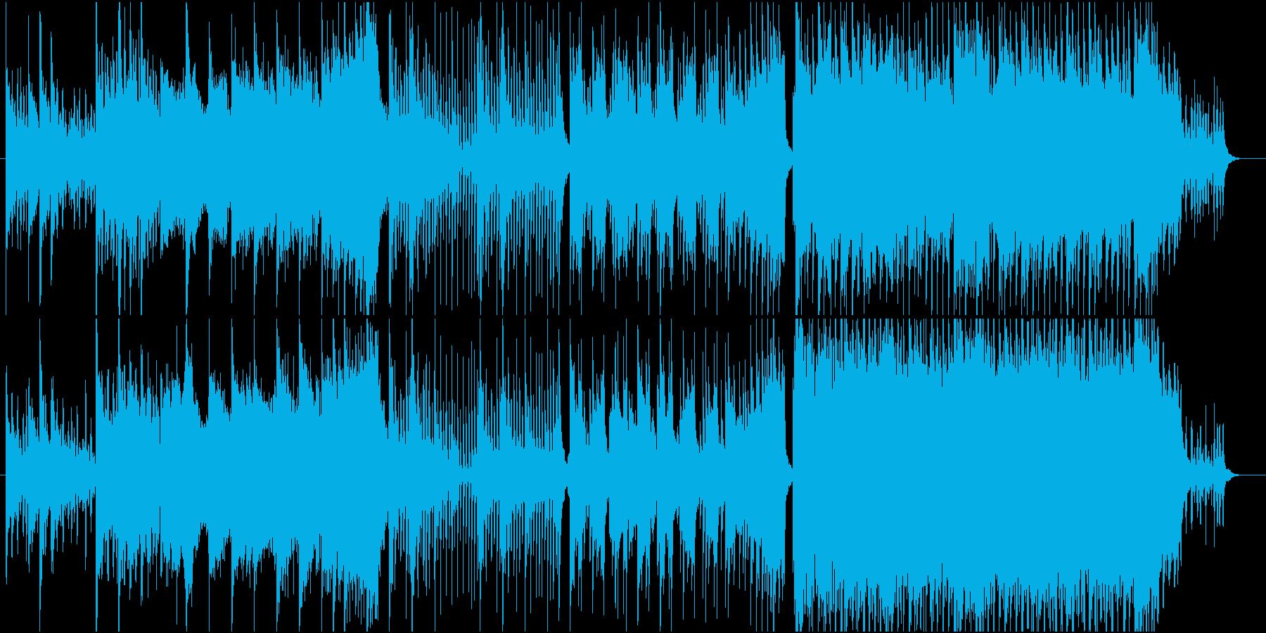 壮大・ブライダル・感動・未来の再生済みの波形