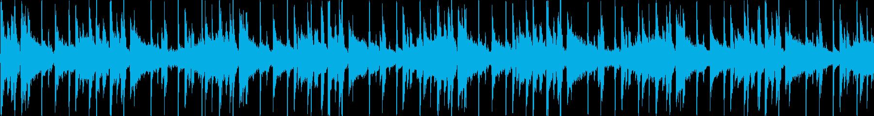 ヒップホップを感じる楽曲です。の再生済みの波形