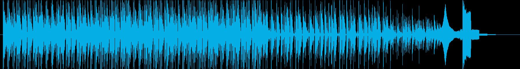 ヒップホップの要素と催眠術をかける...の再生済みの波形