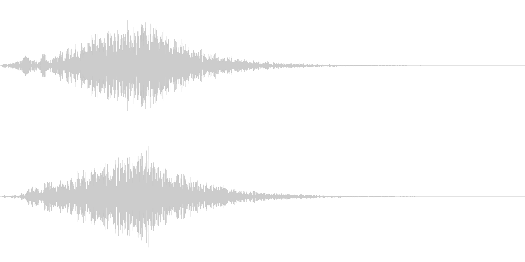 【SE 効果音】不気味な音11の未再生の波形