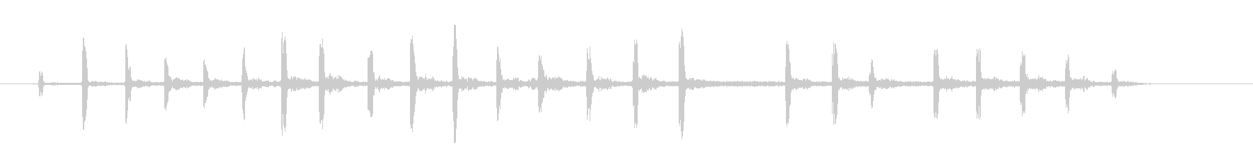 イーグル・クレブレラの未再生の波形