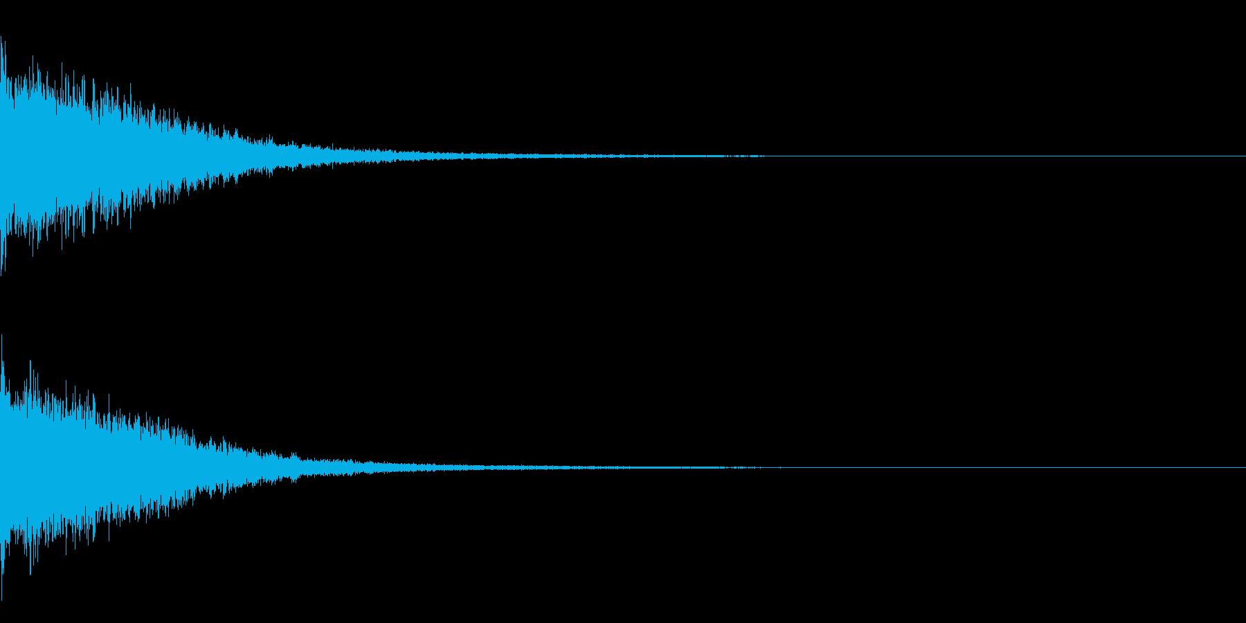 インパクト系 強調 重厚 豪華の再生済みの波形