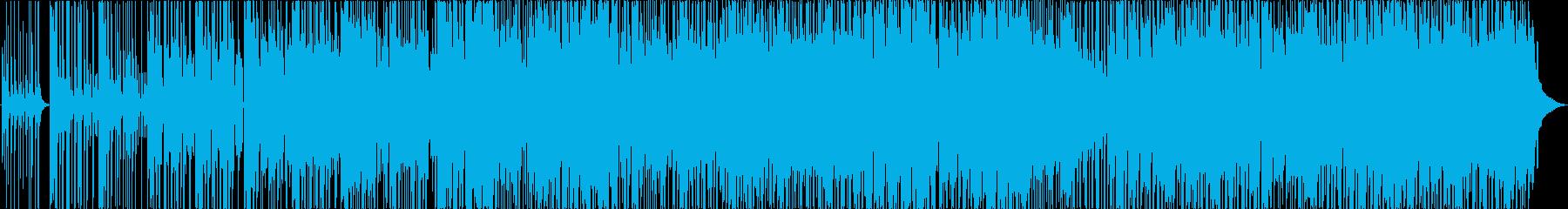 エレクトリックピアノ、ウクレレ、セ...の再生済みの波形