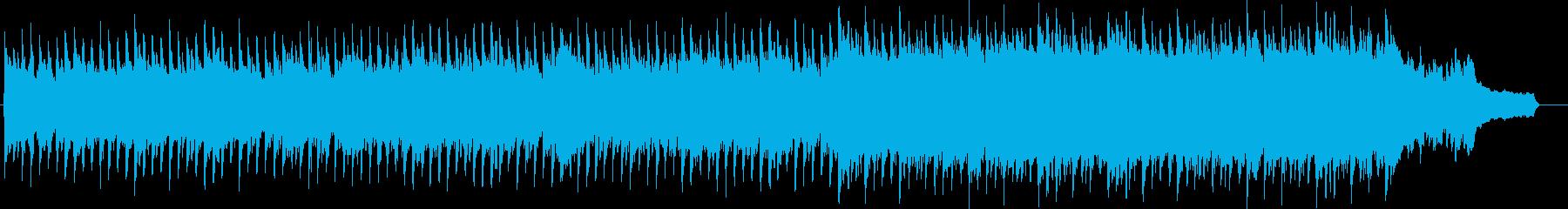 企業VP系64、爽やかピアノ、4つ打ちbの再生済みの波形