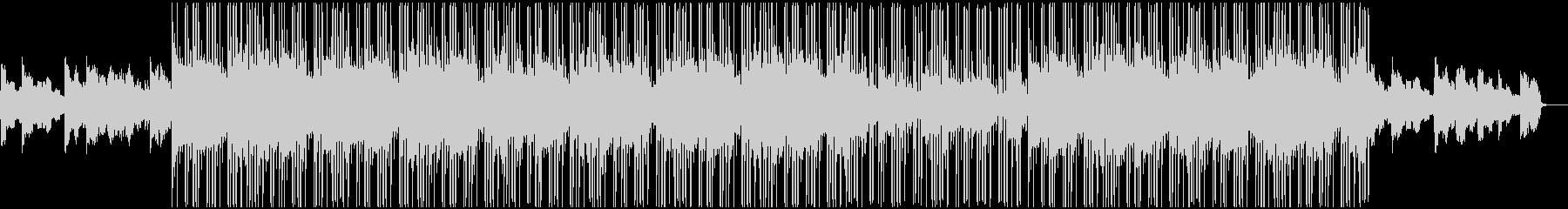 Lo-Fiのヒップホップビートの未再生の波形