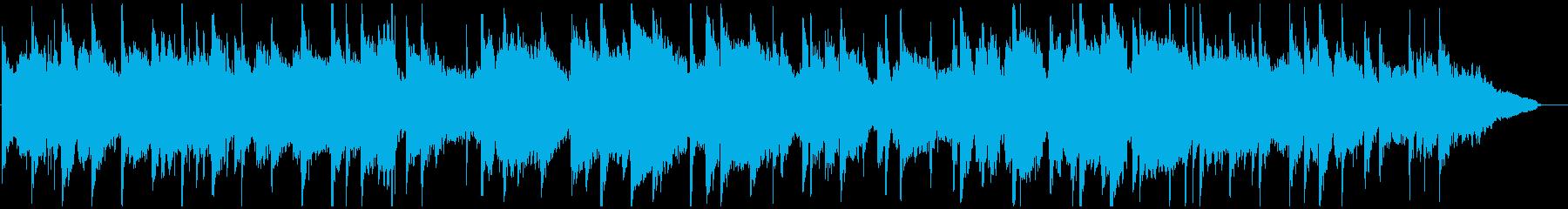 プラネタリウムのような幻想的ヒーリング曲の再生済みの波形