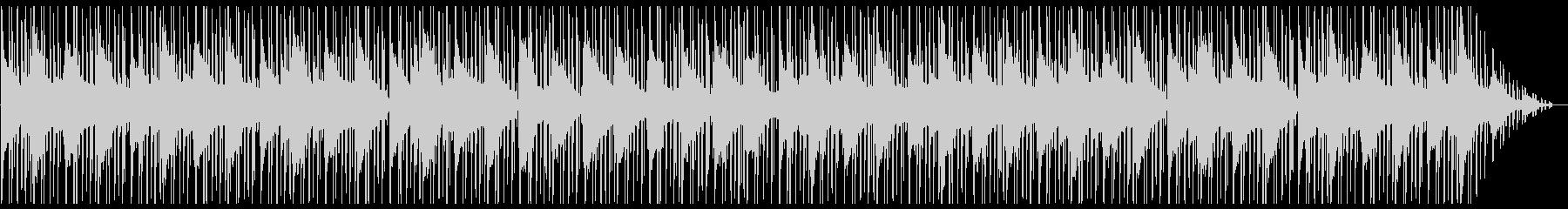 ゲーム・メニュー・酒場 メロウなピアノの未再生の波形