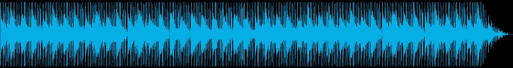 ゲーム・メニュー・酒場 メロウなピアノの再生済みの波形