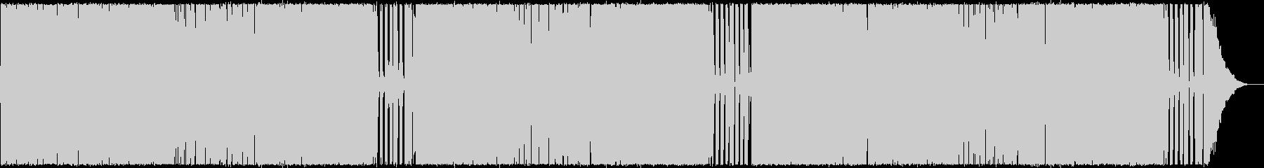 明るく開けるPunkなPopRockの未再生の波形