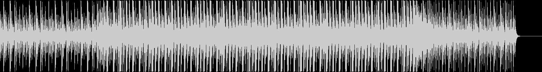マリンバ、グロッケンの可愛らしい楽曲。の未再生の波形