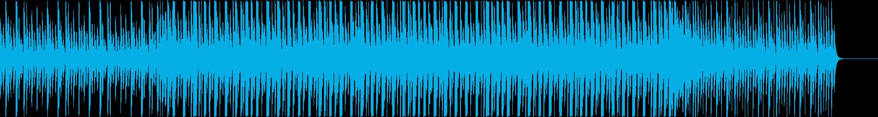 マリンバ、グロッケンの可愛らしい楽曲。の再生済みの波形