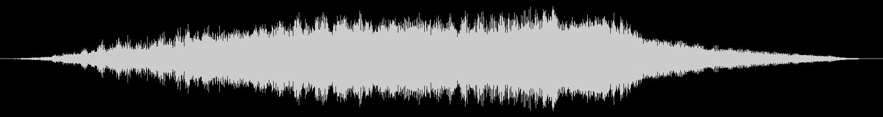 スペースメタリックシンセライザーの未再生の波形