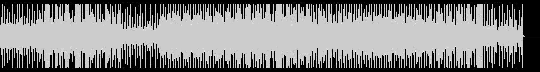 重く暗い空気感の漂うBGMの未再生の波形