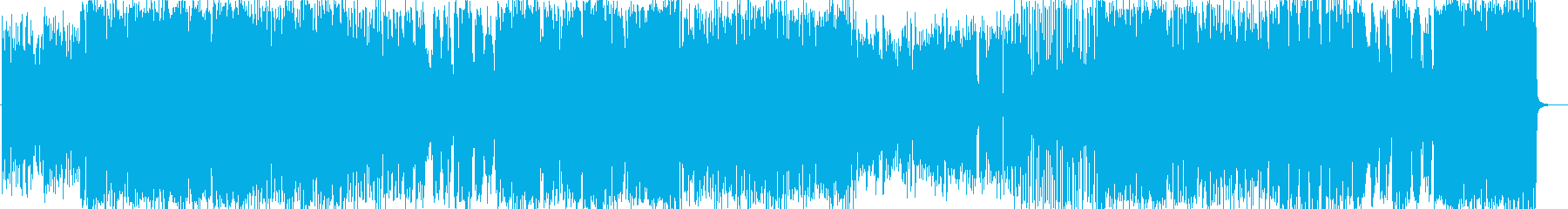 印象的なサビのラテンフュージョンナンバーの再生済みの波形