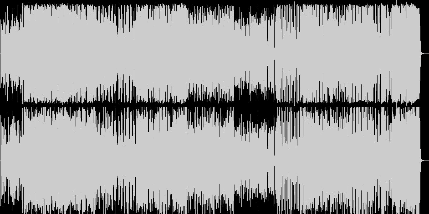 生演奏高音質のラテンフュージョンの未再生の波形