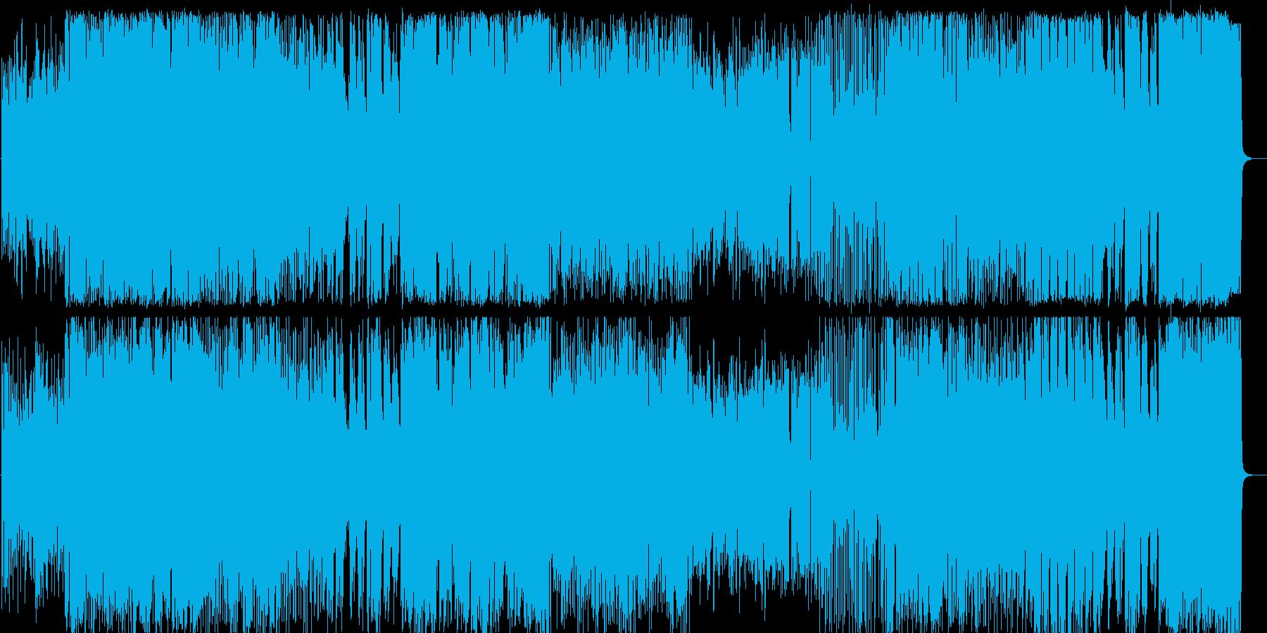 生演奏高音質のラテンフュージョンの再生済みの波形