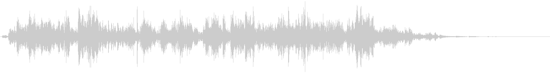 鎖を動かす音10【長い】の未再生の波形