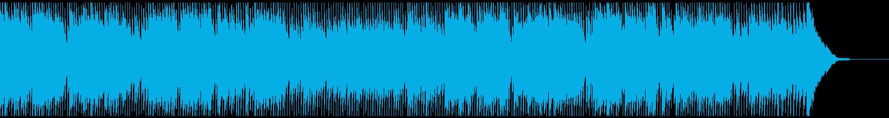 日本昔ばなし風のどこか寂しく温かいBGMの再生済みの波形