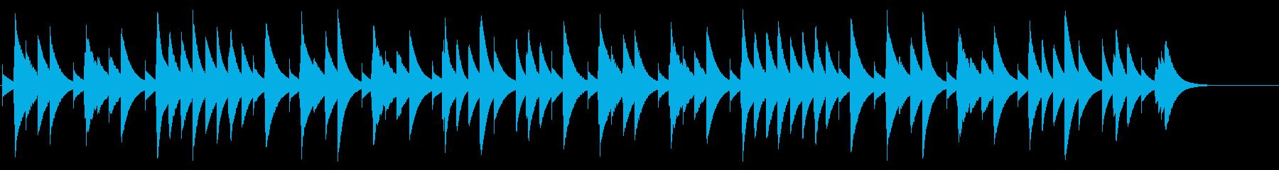 ハッピーバースデー カード式オルゴールの再生済みの波形