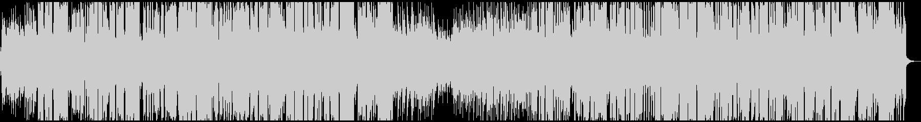 クラリネットのひょうきんなジャズの未再生の波形