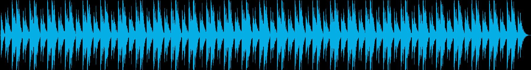 シーケンス 面白いシンセシーケンス02の再生済みの波形