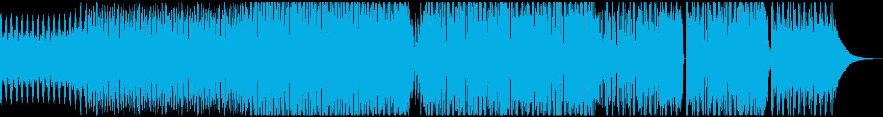 激しく軽快な乱れ打ちエレクトロハウス!!の再生済みの波形