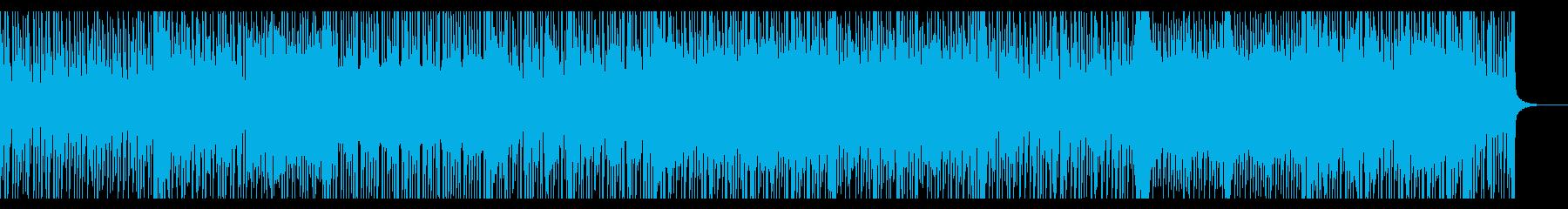 心が弾む、軽くなる曲の再生済みの波形