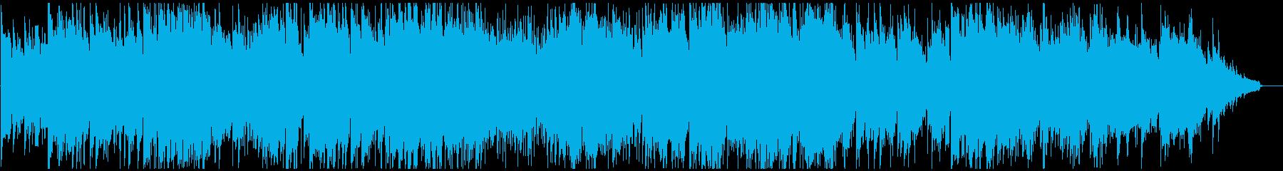 さわやかで幻想的なコンテンポラリージャズの再生済みの波形