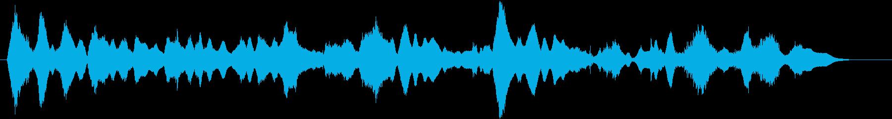 シリアス音5の再生済みの波形