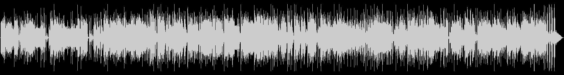 ファンクなフュージョン系ピアノポップの未再生の波形