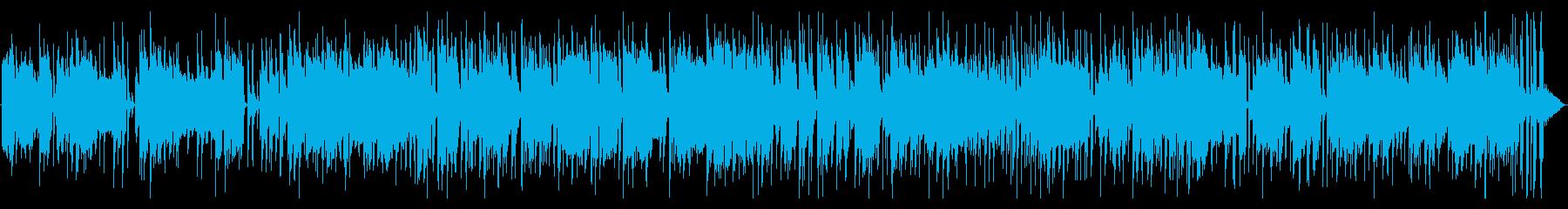 ファンクなフュージョン系ピアノポップの再生済みの波形