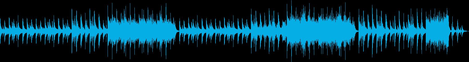 切ないピアノとバイオリンが特徴のバラードの再生済みの波形