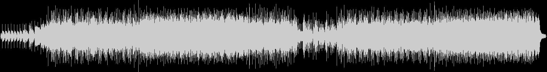 ピアノメインのノスタルジックなバラードの未再生の波形