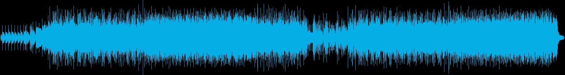 ピアノメインのノスタルジックなバラードの再生済みの波形