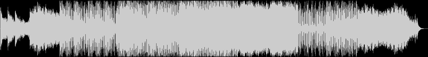 壮大でクールな空間的ドラムンベースBGMの未再生の波形