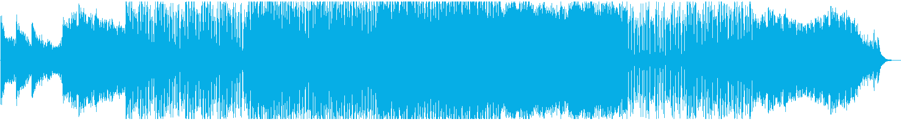 壮大でクールな空間的ドラムンベースBGMの再生済みの波形