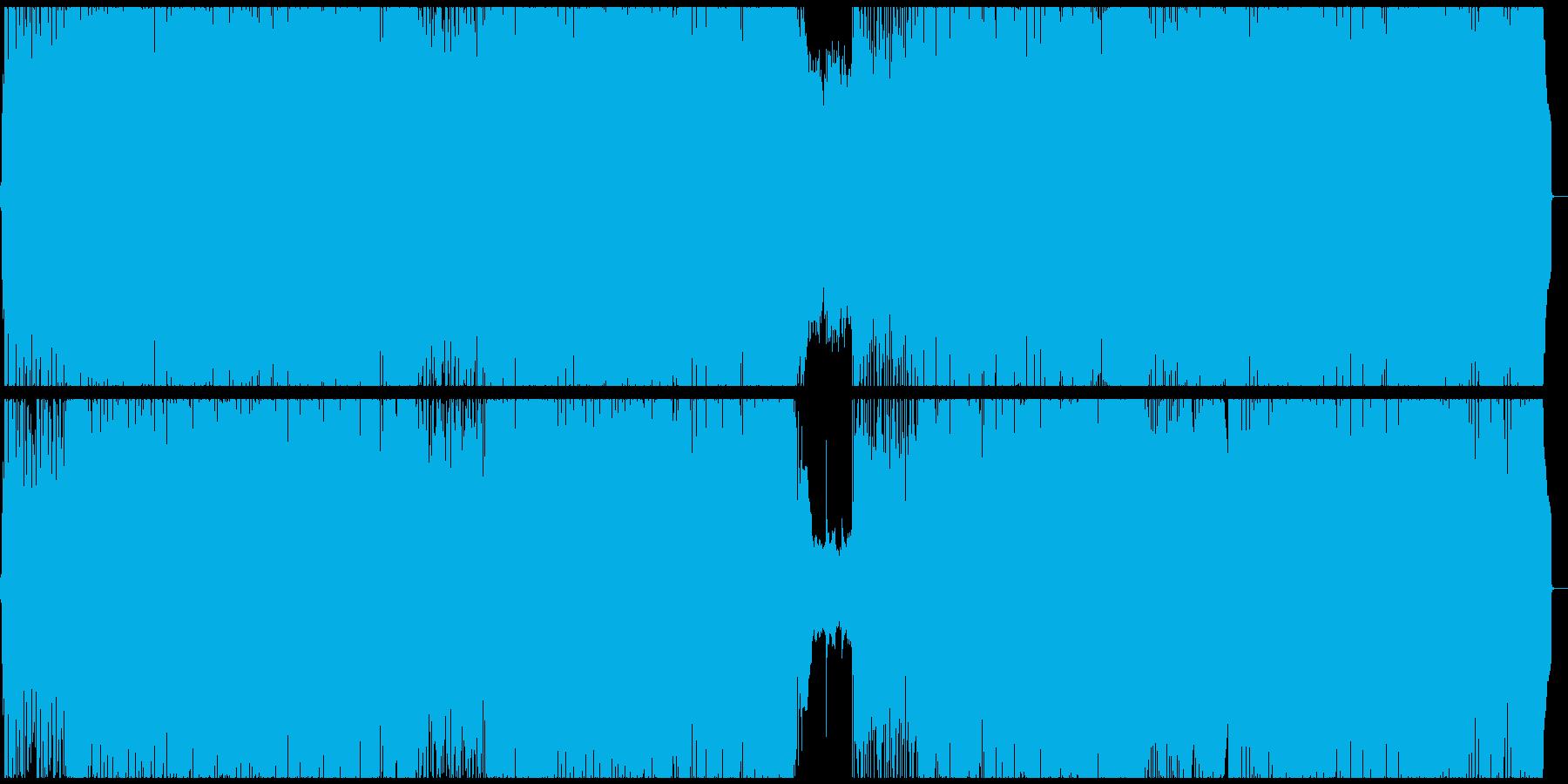 男性ボーカルによる爽やかな邦ロックの再生済みの波形
