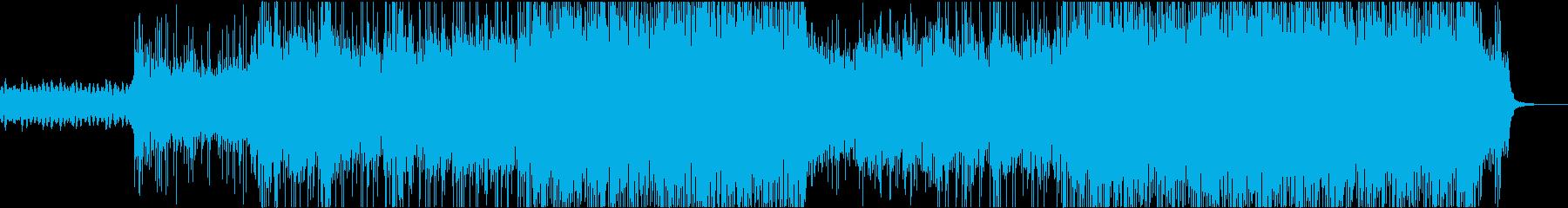 トラップ ヒップホップ 神経質 テ...の再生済みの波形