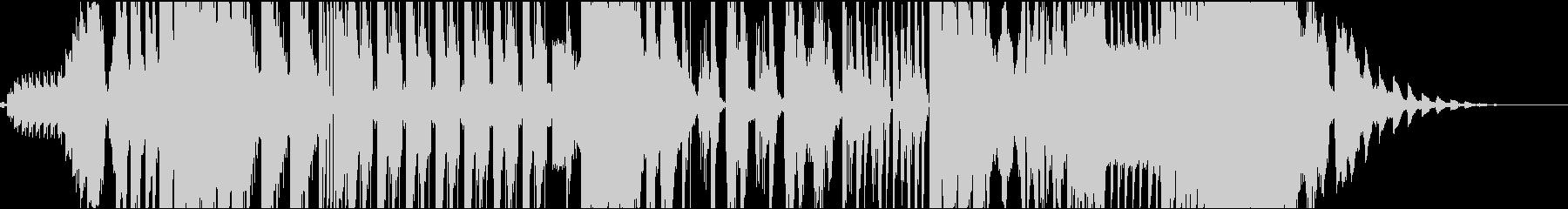 Future POPのチョップのジングルの未再生の波形