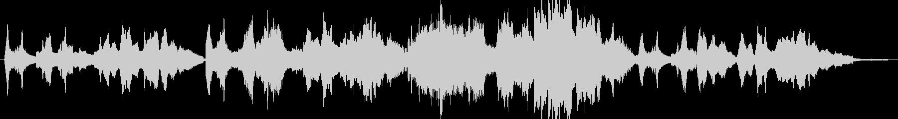 ソロバイオリンメロディーの美しいピ...の未再生の波形