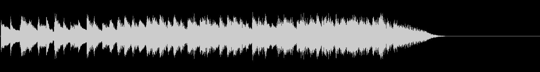 グランドピアノ:ファーストフォール...の未再生の波形