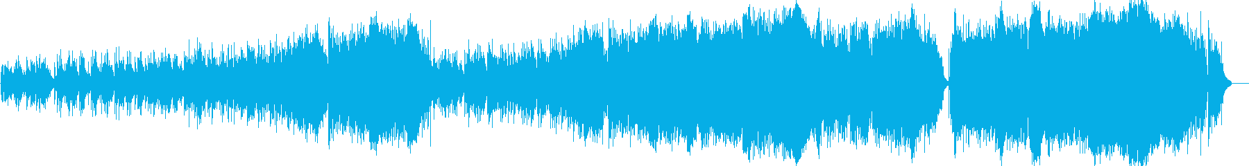 きらびやかなイメージのバラード曲です。の再生済みの波形