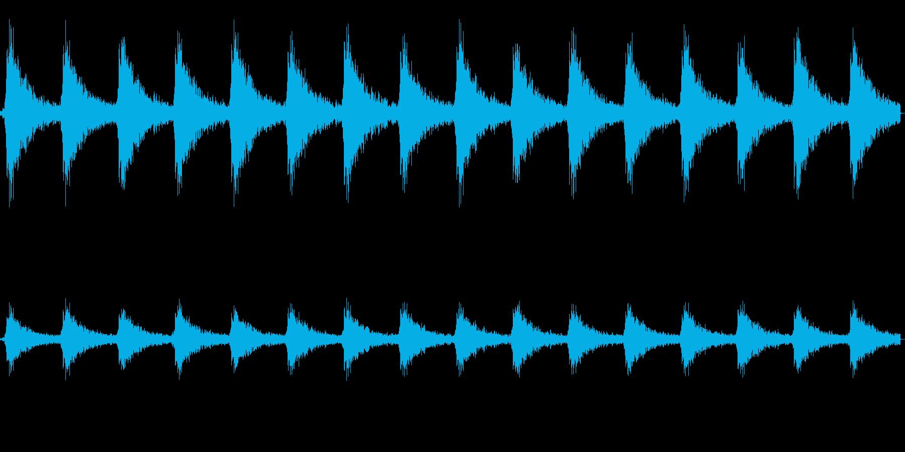 ジングルベル(クリスマスの鈴)の再生済みの波形
