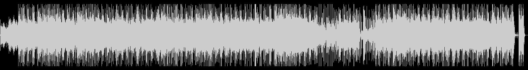 ヘビーなサウンドのハードロックの未再生の波形