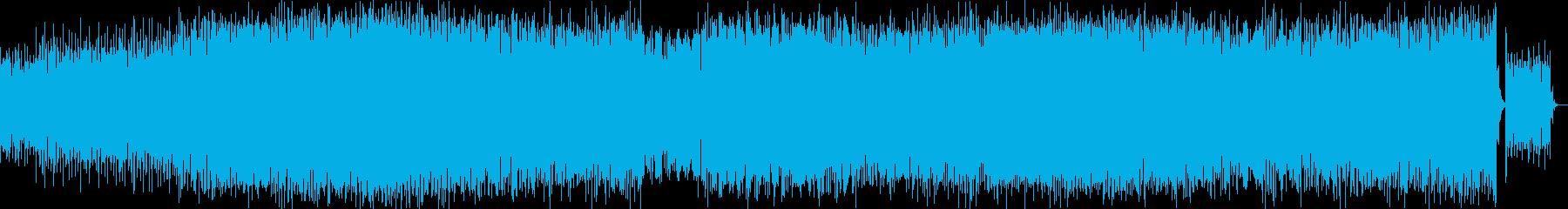 和太鼓を使った不気味なアシッドテクノの再生済みの波形