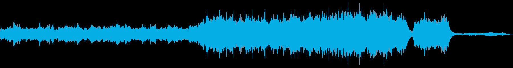 オーケストラ楽器。渦巻く暗いサスペ...の再生済みの波形