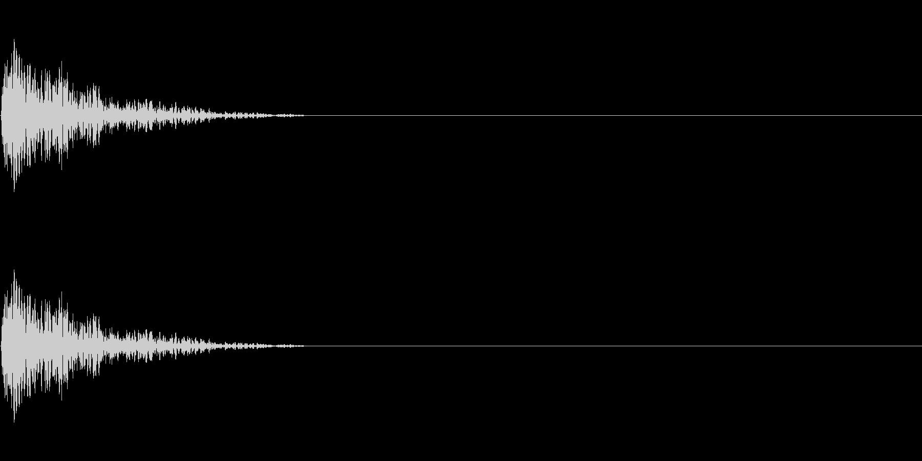 LoFiドラムキット03-スネア02の未再生の波形