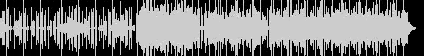 無機質なプログレッシブハウスの未再生の波形