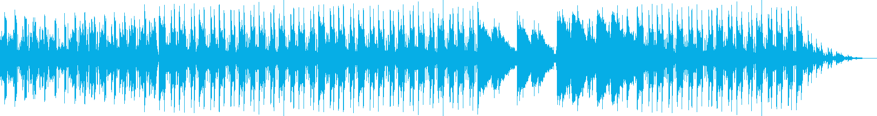 lo-fi hip-hop11の再生済みの波形