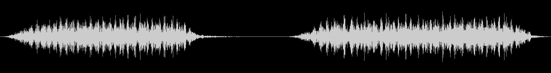 大型ライブスチームモデルトレイン:...の未再生の波形